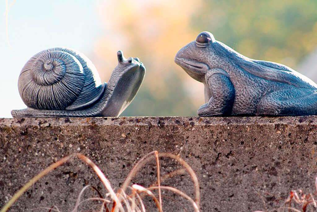 Tierfiguren aus Beton